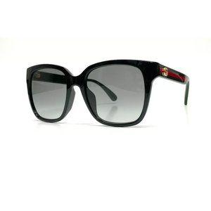 Gucci Women's Black Grey Authentic Sunglasses